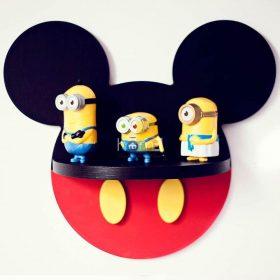 kệ treo tường chuột Micky minideco008