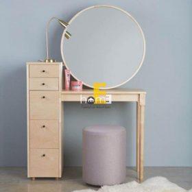 IATM006 - bàn trang điểm bằng gỗ có kèm gương