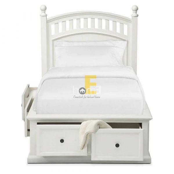 Giường có ngăn kéo tiện dụng