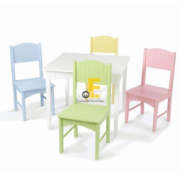 ghế nhiều màu