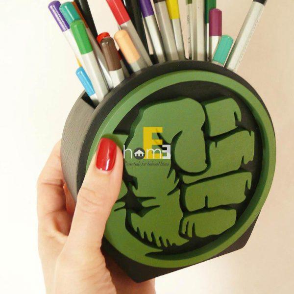 Hộp cắm bút nắm đấm Hulk
