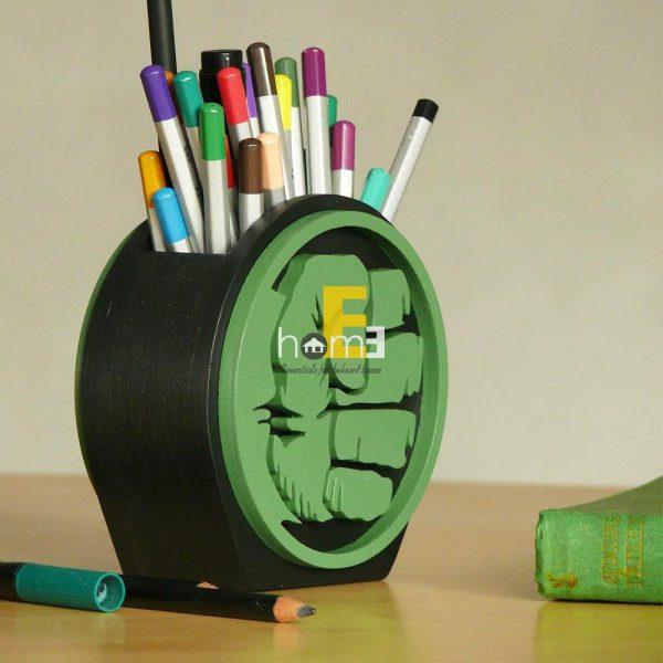 Hộp cắm bút MiniDeco031 nắm đấm của Hulk