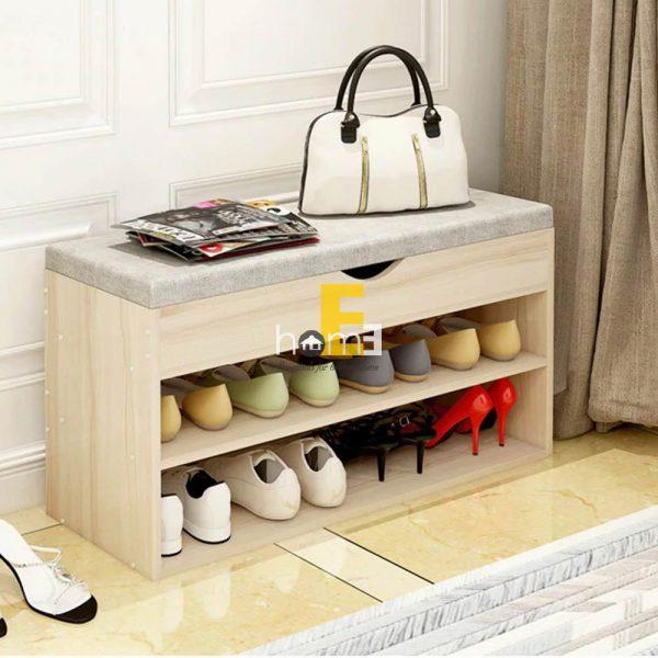 tủ giày thông minh có đệm bọc da 3