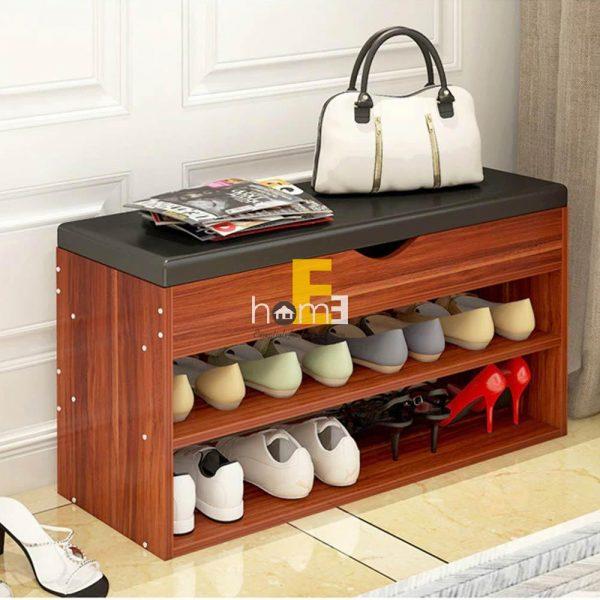 tủ giày thông minh có đệm bọc da 2 - một sản phẩm PROUD OFF nổi bật