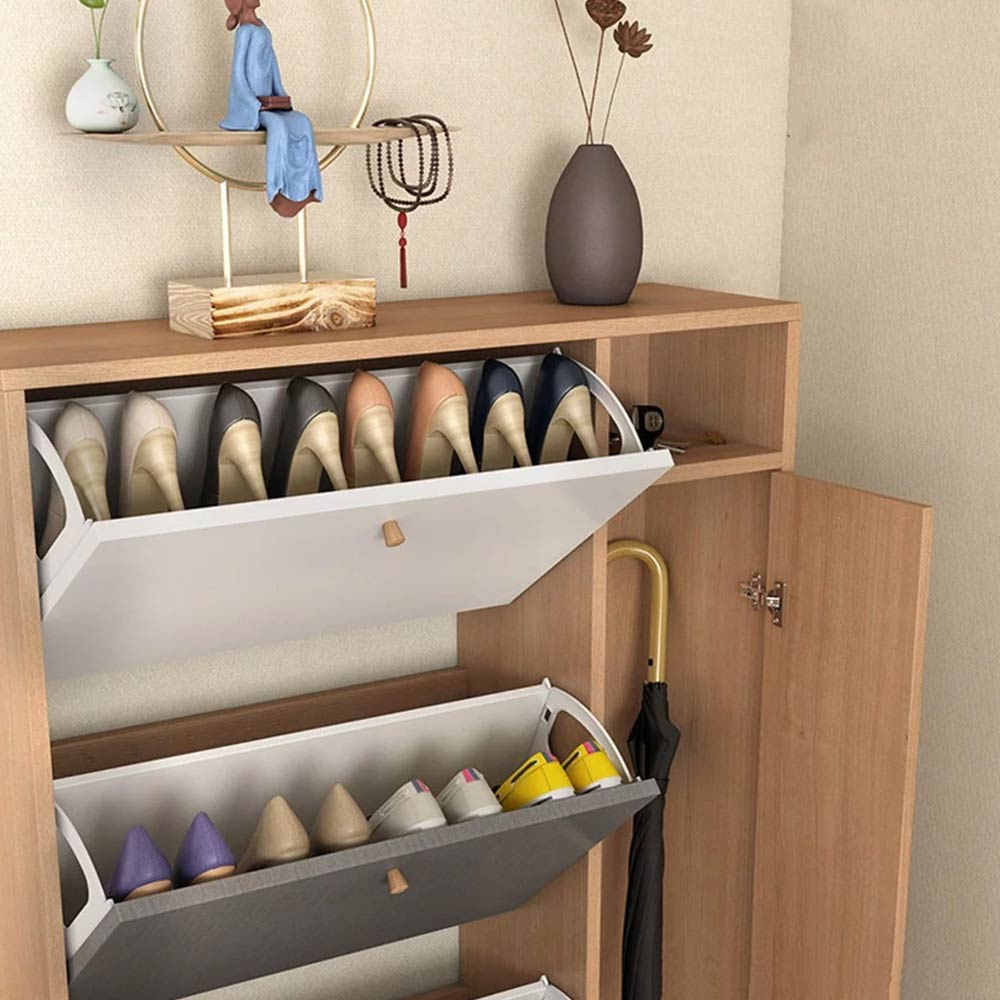 Tiết lộ mẹo hay chọn tủ giày cho gia đình