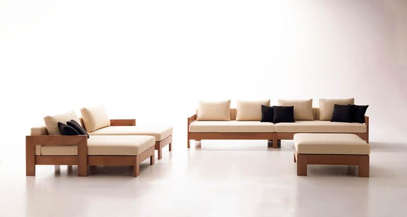 Mẫu bàn ghế phòng khách hiện đại cá tính