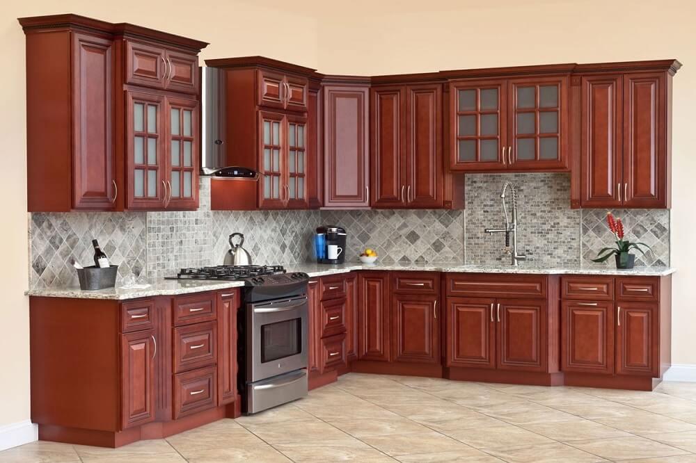 Lựa chọn tủ bếp dựa theo diện tích phòng bếp