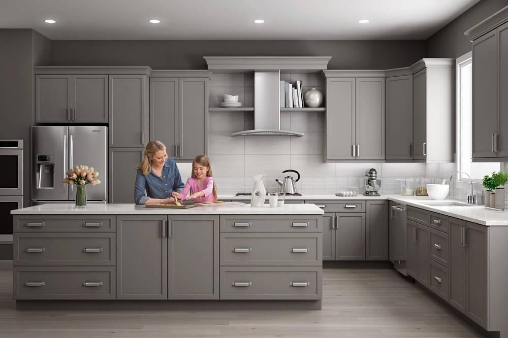 Kiểu dáng thiết kế của tủ bếp