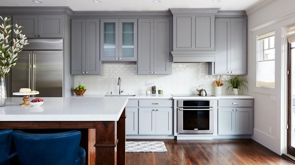 Màu sắc của tủ bếp gia đình