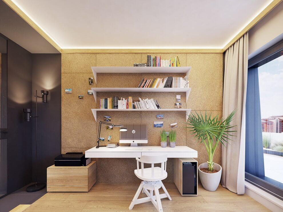 Chọn phong cách decor phòng làm việc tại nhà