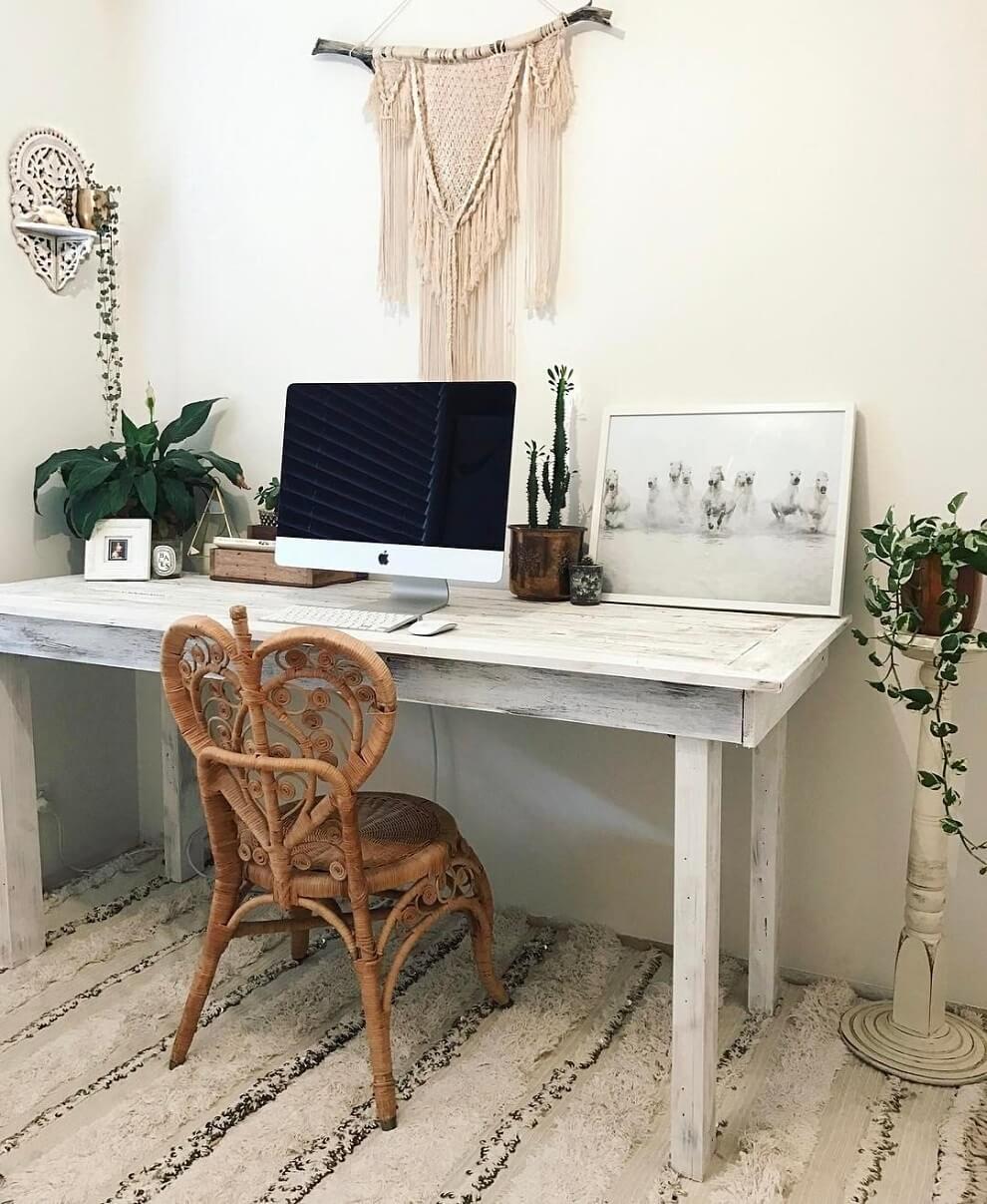 Bố trí nội thất trong phòng làm việc tại nhà