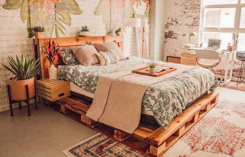 Đánh giá ưu và nhược điểm của giường gỗ pallet